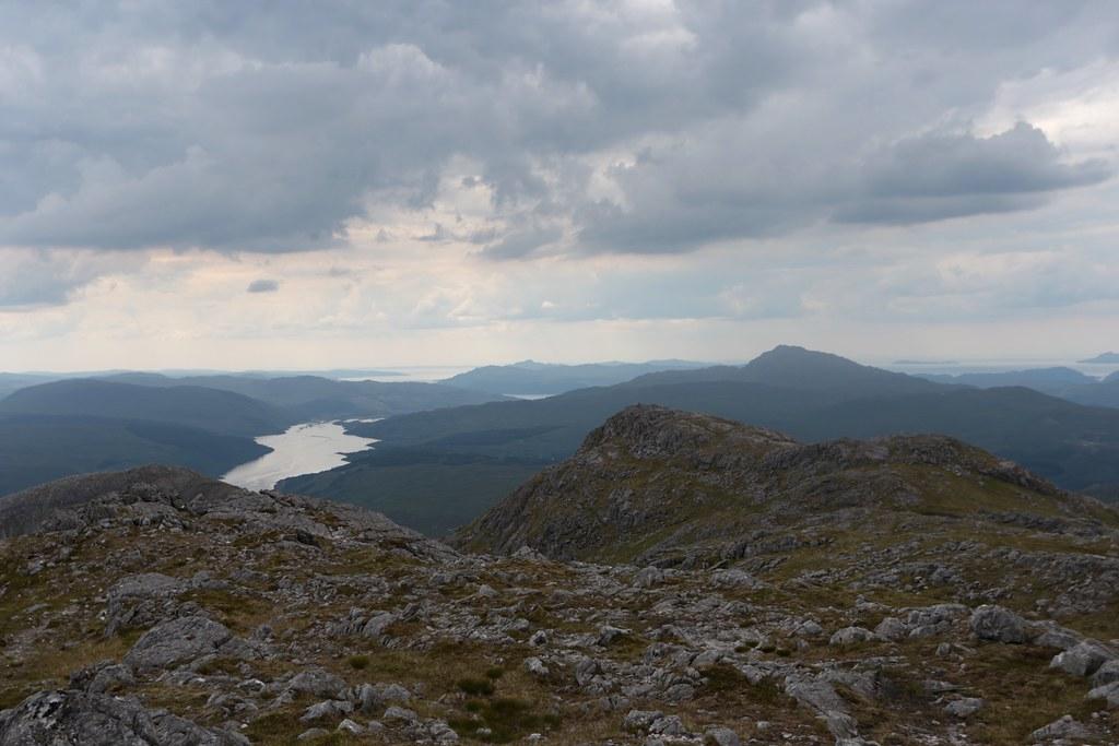 Loch Sunart and Beinn Resipol