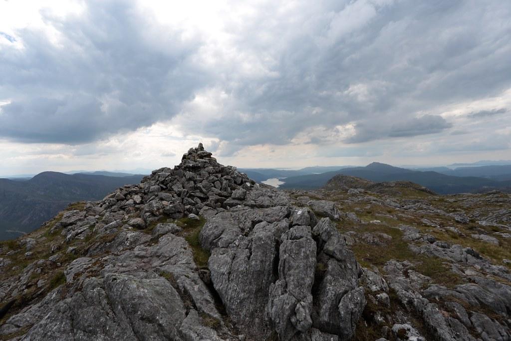 Summit of Garbh Bheinn