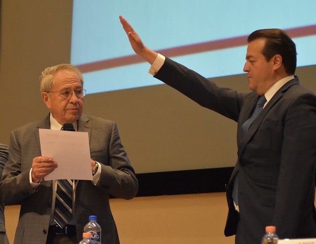 Toma de protesta del Director General del Instituto Nacional de Medicina Genómica. Dr. Alonso Herrera