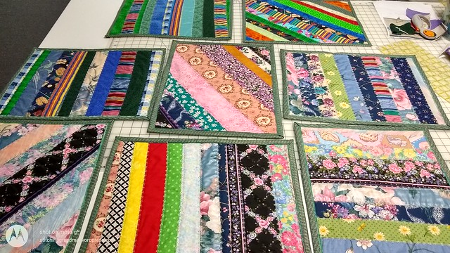 8 placemats finished