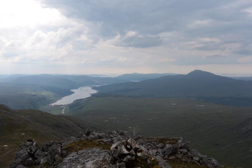 Loch Sunart and Ben Resipol