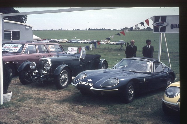 1969 Marcos GT and 1936 Aston Martin International