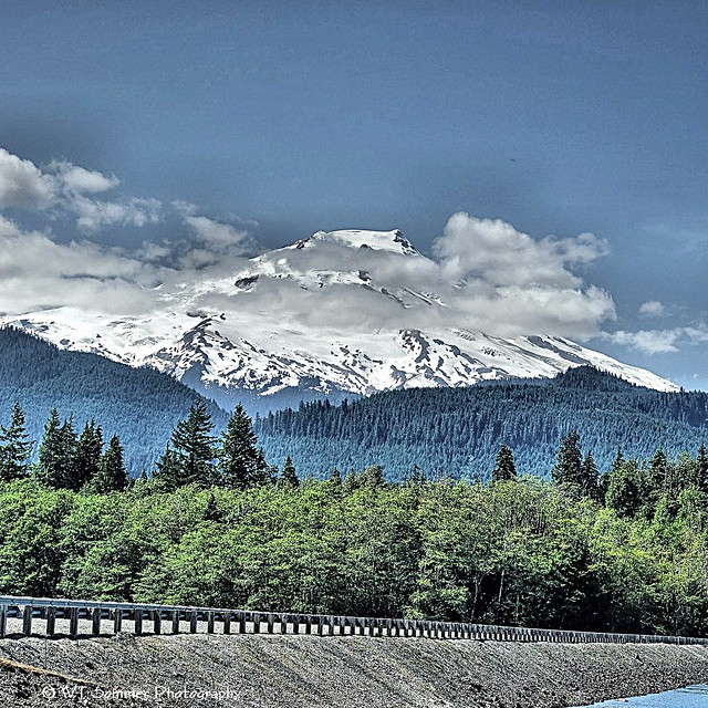 Mt Baker from Baker Lake_