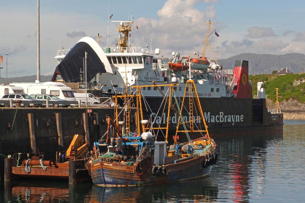 MV 'Lord of the Isles' at Mallaig