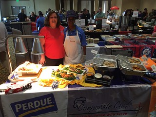 Tracie Davis & Renee (Perdue Foods)