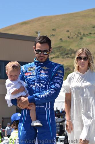 Kyle Larson & Family