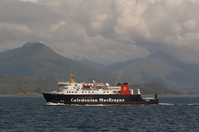 'Lord of the Isles' crossing from Mallaig to Armadale