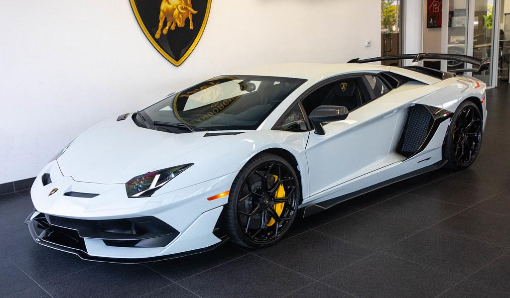 "2019 ""Fashion Grey"" Lamborghini Aventador SVJ Coupe"