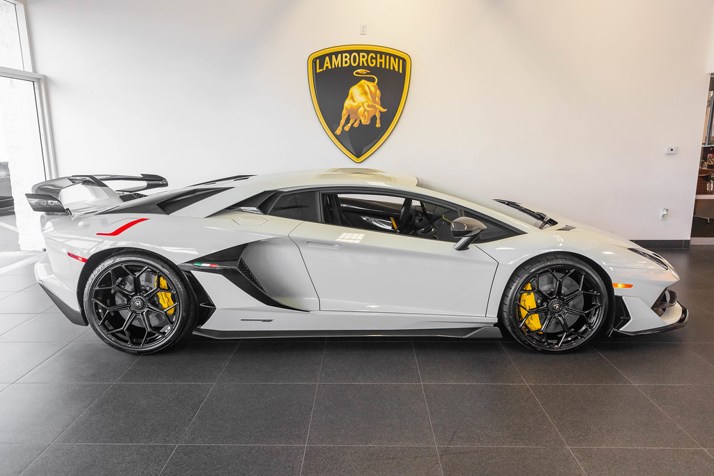 "2019 ""Fashion Grey"" Lamborghini Aventador SVJ Coupe"
