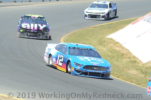 Ryan Blaney, Jimmie Johnson & Chris Buescher