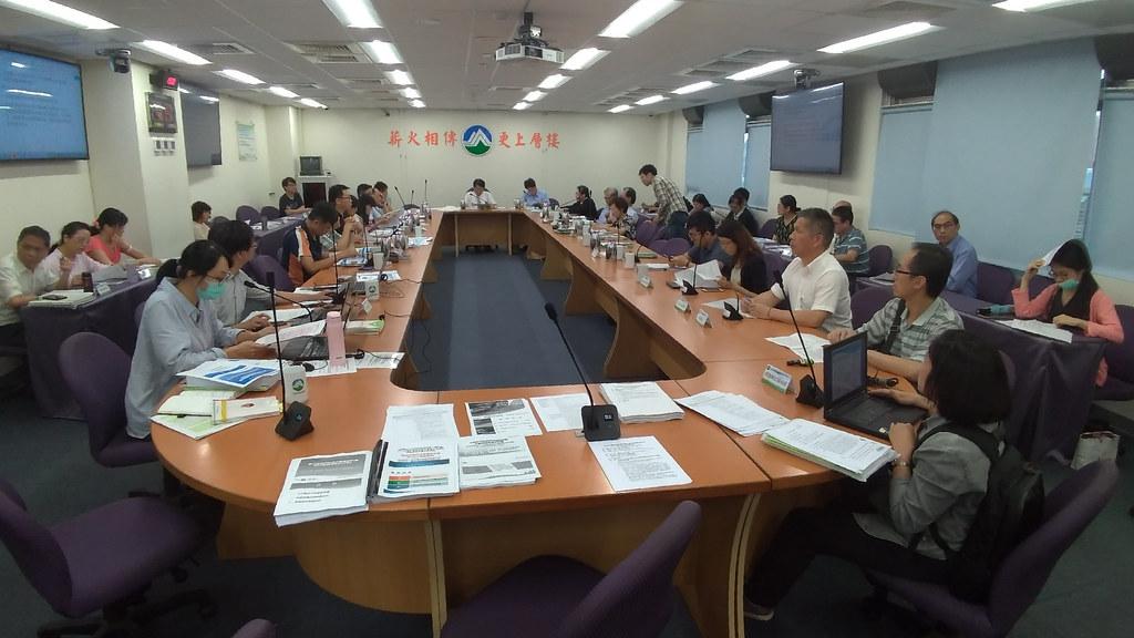 環保署今(26日)審查台北捷運系統環狀線建設計畫第四次環境影響差異分析報告。孫文臨攝