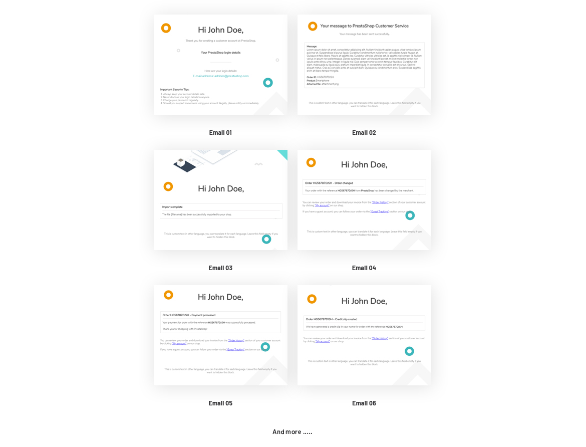 34+ Useful Built-in Email Template
