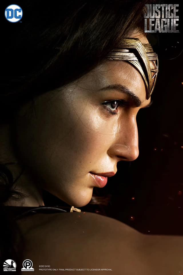 這尊胸像有香味!!! Infinity Studio - DC Series -《正義聯盟》神力女超人 Wonder Woman 1:1 比例半身胸像