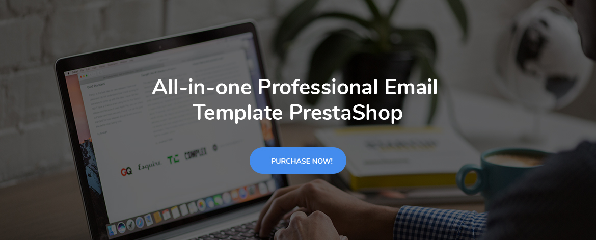 Rate this theme 5 stars-leo postmail prestashop email template
