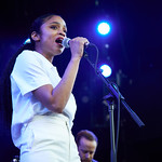 Fri, 21/06/2019 - 7:28pm - Adia Victoria and her band. Photo by Gus Philippas/WFUV