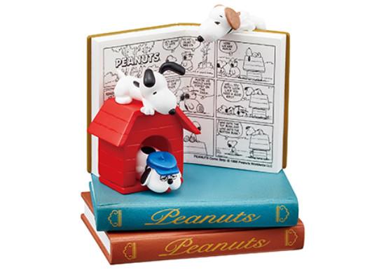 【官圖&販售資訊更新】RE-MENT《史奴比》「小小書中世界篇」趣味登場!Snoopy NANO BOOK WORLD