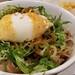 松屋の旨辛ネギたま牛めし生野菜セット、LINEクーポンで550税込円。