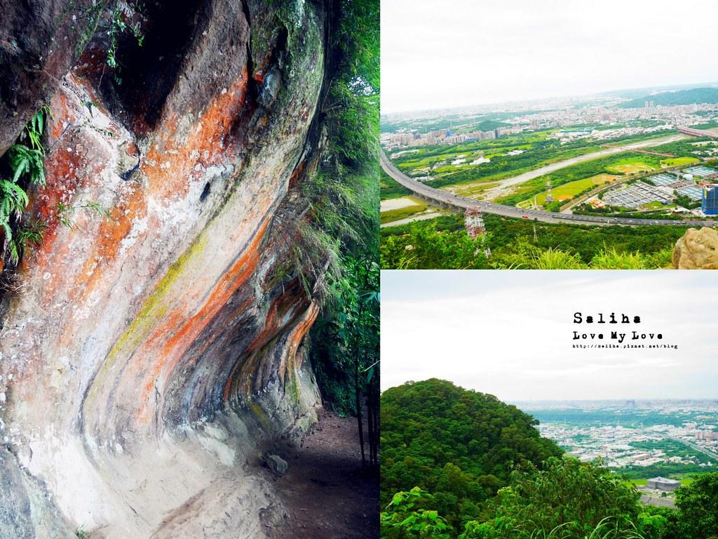 新北三峽一日遊網美好拍絕美景點推薦鴛山彩壁岩