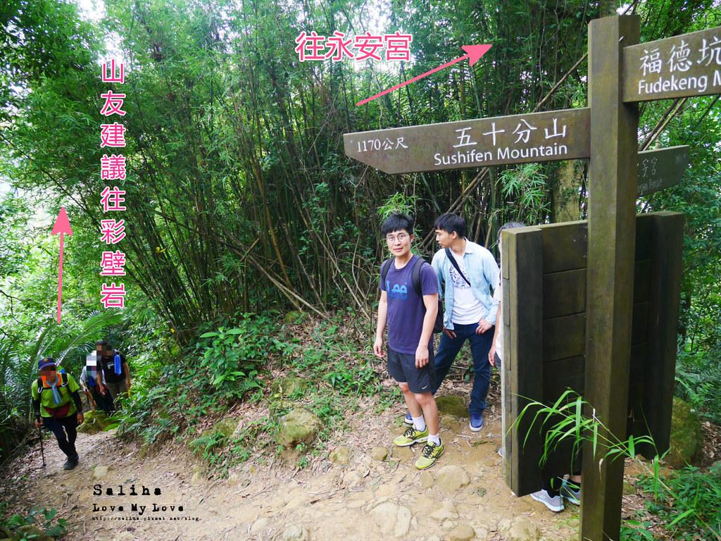 三峽藍染公園附近景點鴛山福德坑山爬山登山步道 (1)