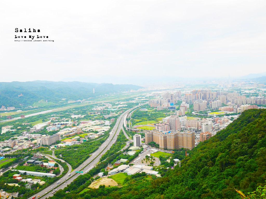 三峽老街附近必玩好拍絕美景點鴛山 好走踏青登山cp值高觀景台 (5)
