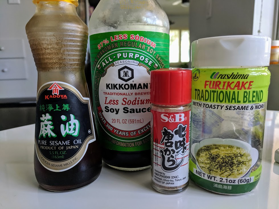 Poke seasonings