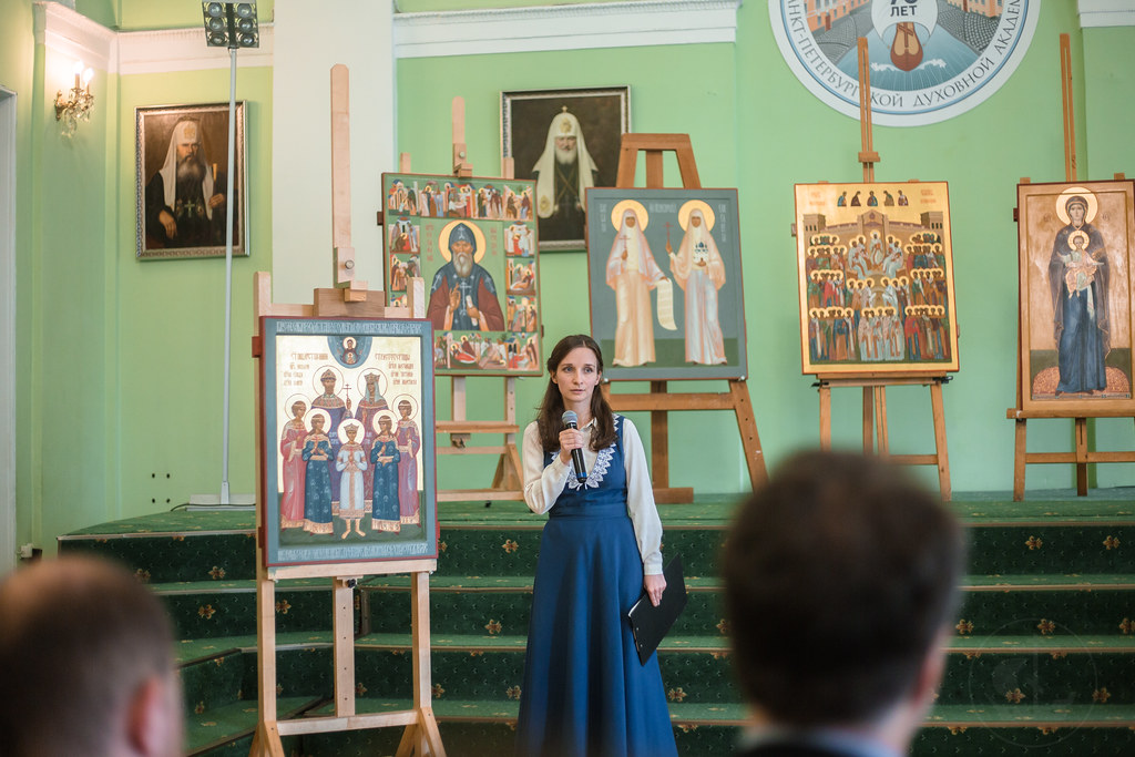 26 июня 2019, Смотр выпускных работ на иконописном отделении / 26 June 2019, Final works of the Iconographic Department review