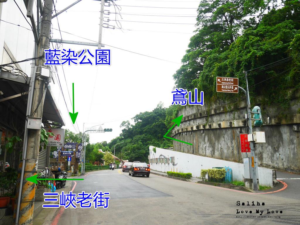 新北三峽老街附近登山景點推薦鴛山觀景台景觀超好 (2)