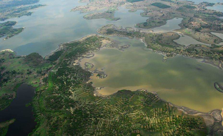 莫哈那地區是哥國三河交會的三角洲平原。圖片來源:聯合國調適基金網站