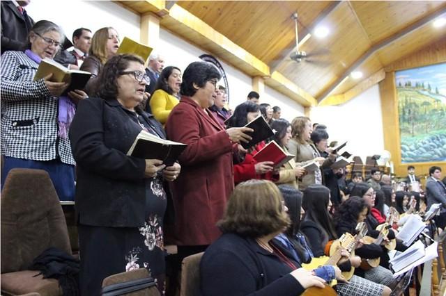 Ensayo Coro Plantilla Sector 13 en Constitución