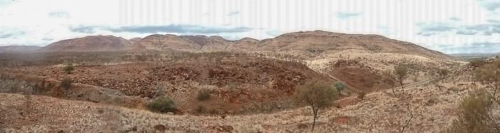 Pilbara hills