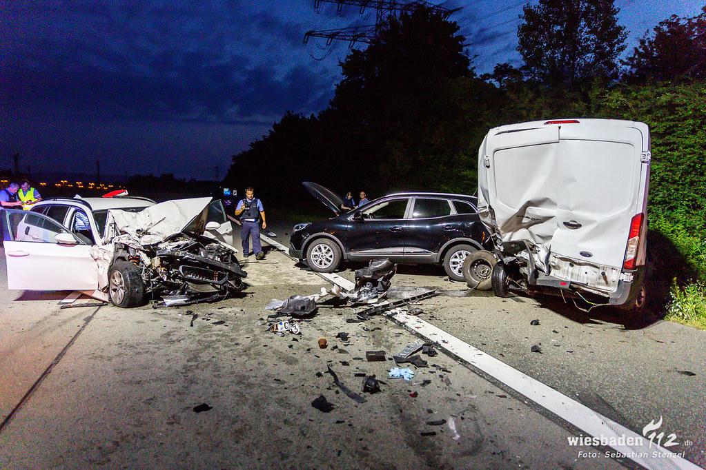 Tödlicher Unfall A671 Amöneburg 27.06.19