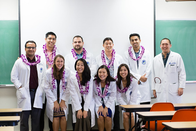 The newest doctors in Hawaii begin the hardest years of their lives