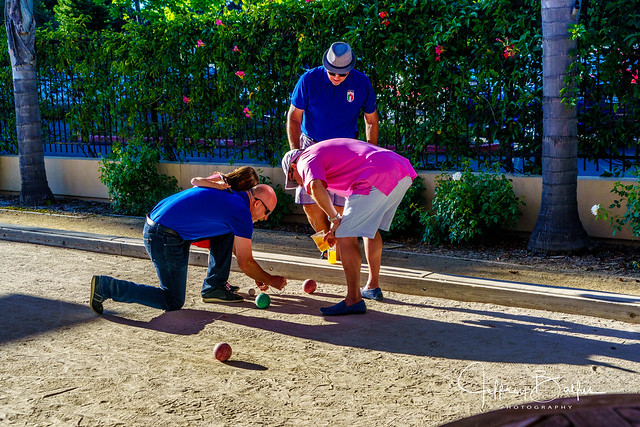 Portraits of Bocce Players-943593