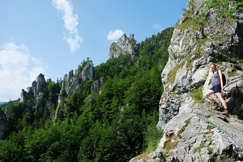 Hiking While Pregnant: Sokolie, Little Fatra, Slovakia