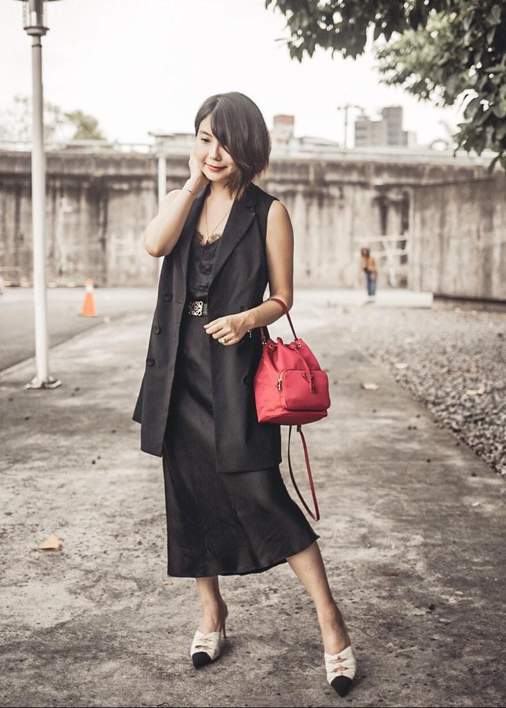 Outfit Prada尼龍迷你水桶包 Prada Mini Nylon Bucket Bag 實背分享 Hbx獨家碼推薦清單 欣匠 欣匠