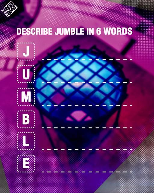 Describe Jumble In 6 Words