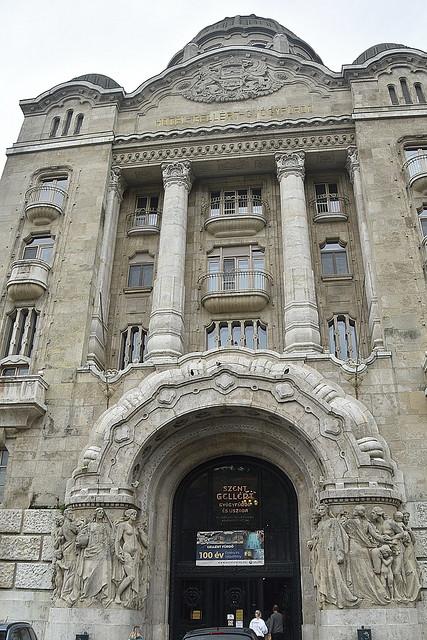 Gallery, Budapest, Hungary.