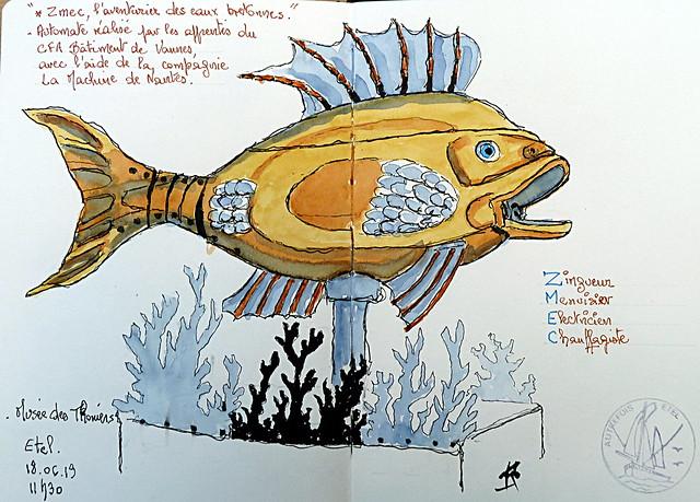 Zmec, l'aventurier des eaux bretonnes.