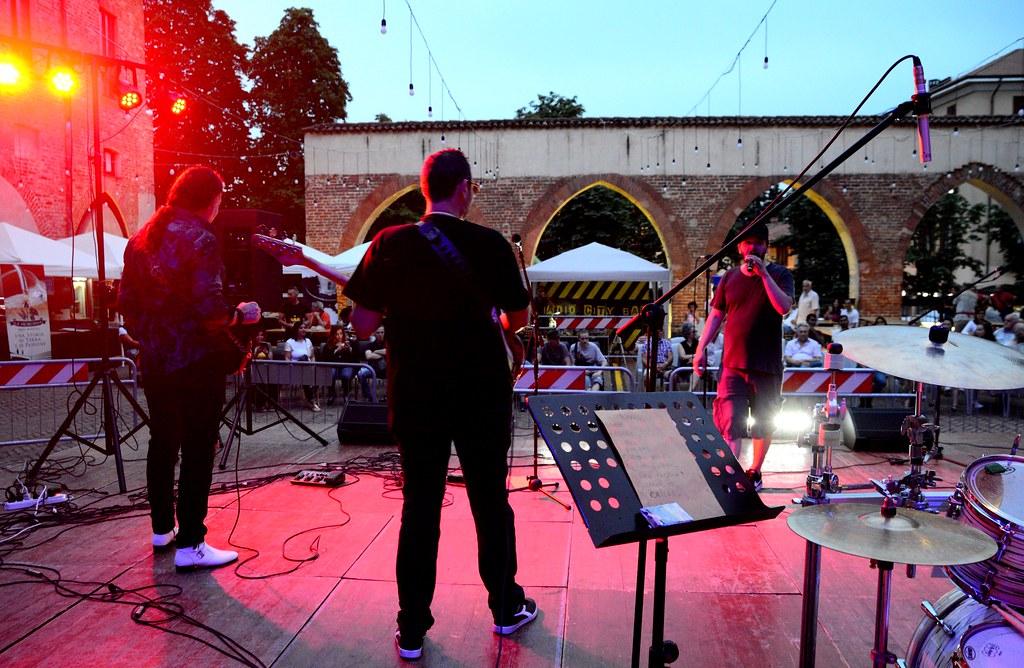 IL SINDACO DI ELLWANGEN E IL SINDACO DI ABBIATEGRASSO - FESTA DELLA MUSICA - RESTATE IN CITTA'  21 GIUGNO 2019 Foto A. Artusa