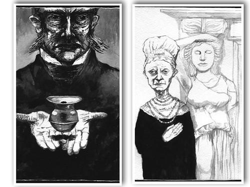 Edward Carey i nonni Iremonger