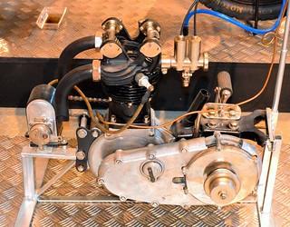 Triumph Ricardo 500cc Engine