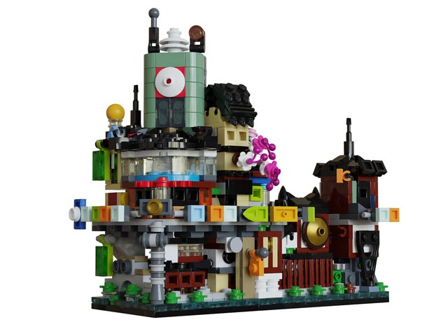 Mini Modulars Ninjago City