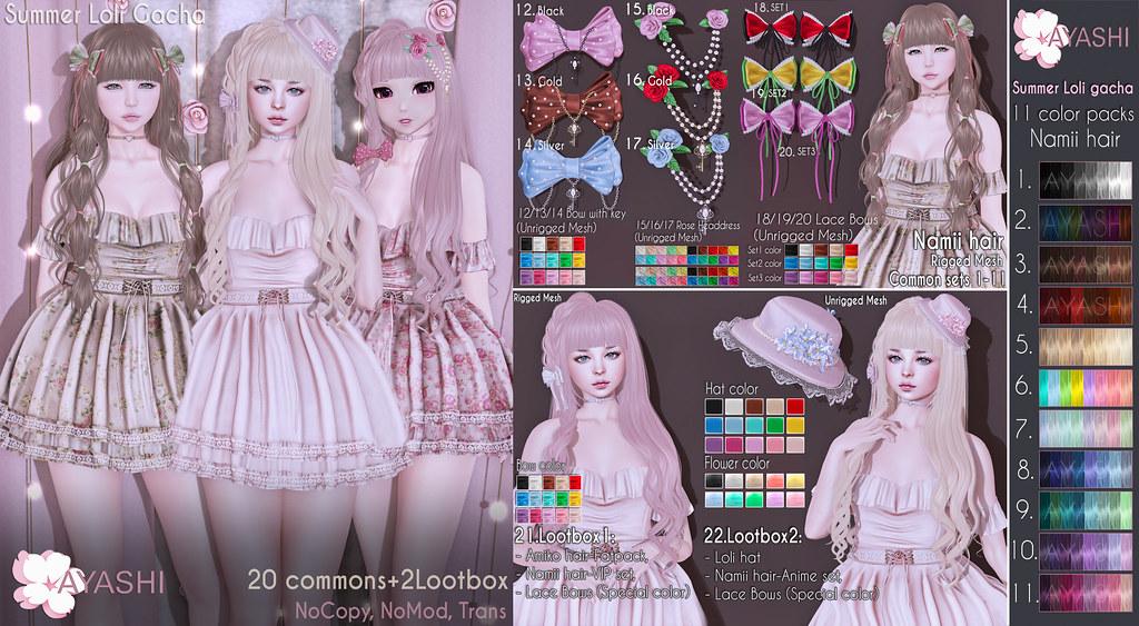 [^.^Ayashi^.^] Summer Loli gacha special for Lootbox
