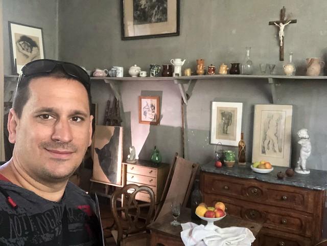Sele en el taller de Cézanne en Aix-en-Provence