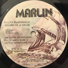 RALPH MACDONALD:SOUND OF A DRUM(LABEL SIDE-B)
