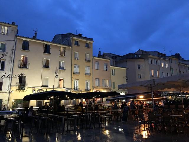 Place des Cardeurs en Aix-en-Provence (Provenza, Francia)