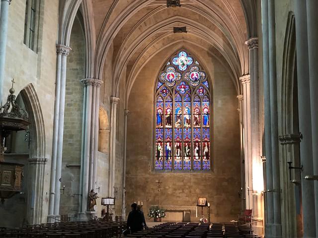 Iglesia de San Juan de Malta en Aix-en-Provence (Francia)