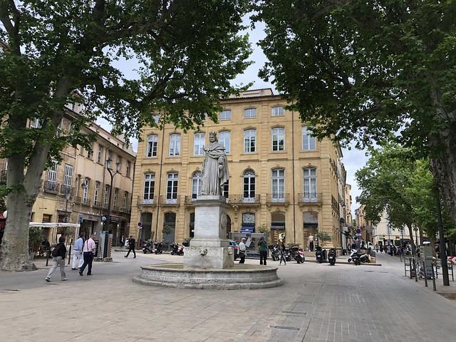 Cours Mirabeau en Aix-en-Provence