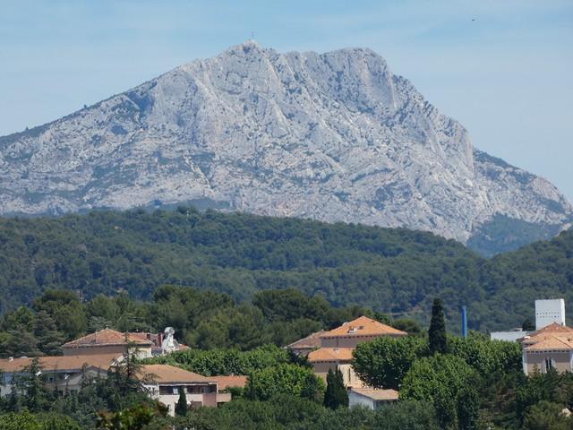 Sainte-Victoire desde Aix-en-Provence