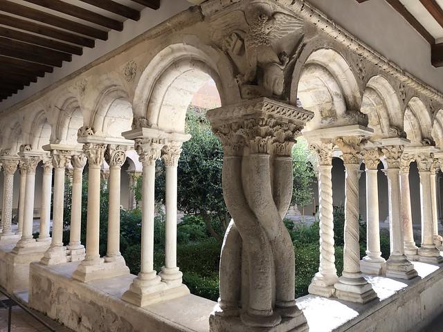 Claustro románico de la catedral de Aix-en-Provence